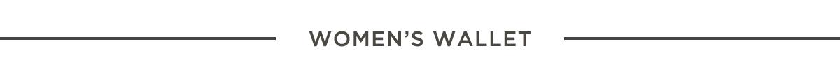 카테고리 WOMAN WALLET