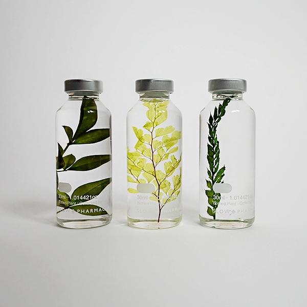 슬로우파마씨 식물표본 30ml 세트 (GREEN)