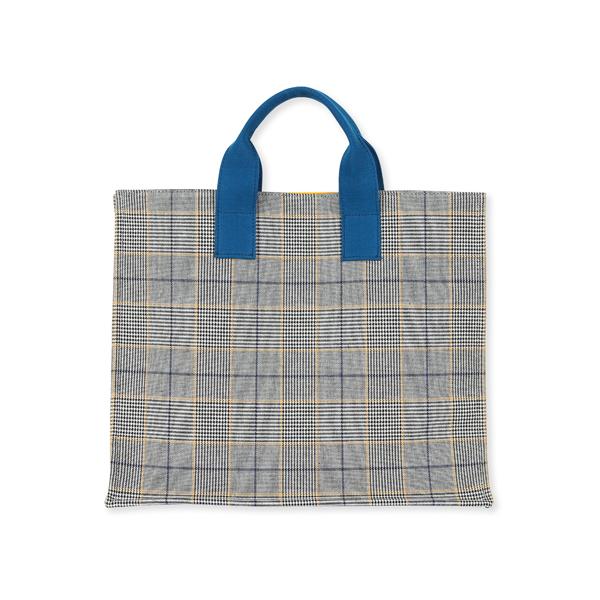코지코티지 CHECK CHECK BAG (BLUE+YELLOW)