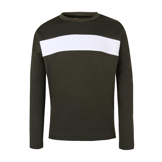 [LOUIS CLUB] 오버사이즈 배색 네오플랜 티셔츠 AJ3R...