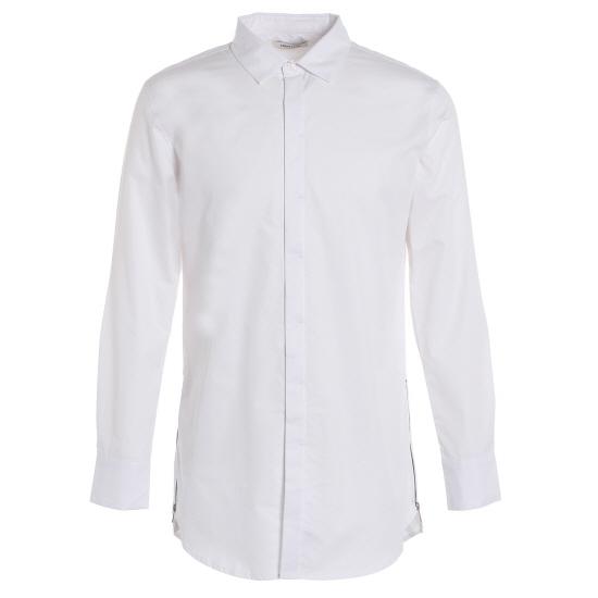 [LOUIS CLUB] 사이드 지퍼 긴기장 셔츠 AJ3RB08M...