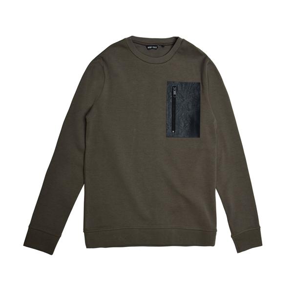 [ANTONY MORATO] 지퍼 디테일 티셔츠 AK3AY12M...