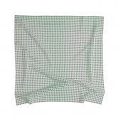 플랫폼엘 martens and martens double silk screen-printed scarf (black&green)