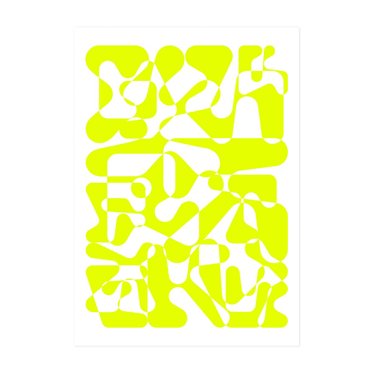 플랫폼엘 김기문 circle, rectangle, red, neon yellow, white 7