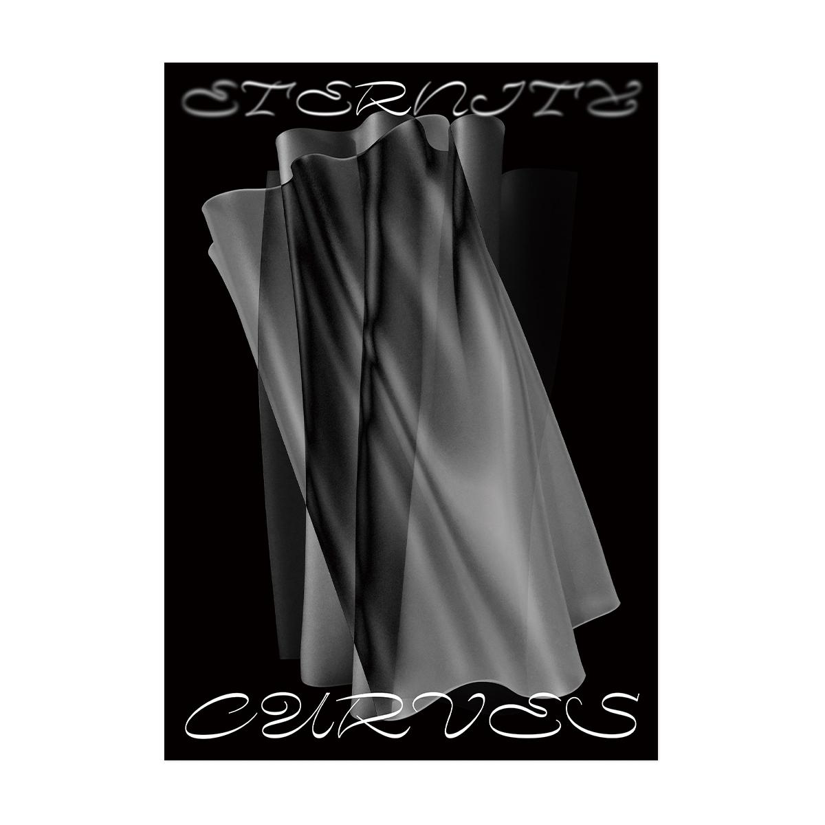 플랫폼엘 Shall We Dance blank wind - eternity curves (black)