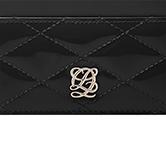 루이까또즈 D-Quilting 쇼콜라 여성카드지갑 SO4QT08BL